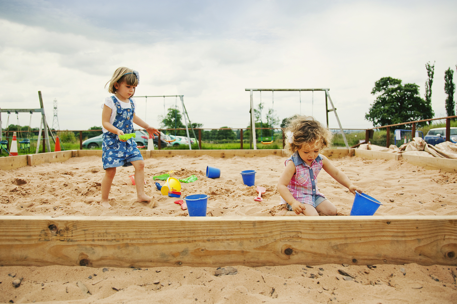 Bluebells Play Park - Sandpit
