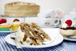 Bluebells Tea Rooms - Homemade Carrot Cake
